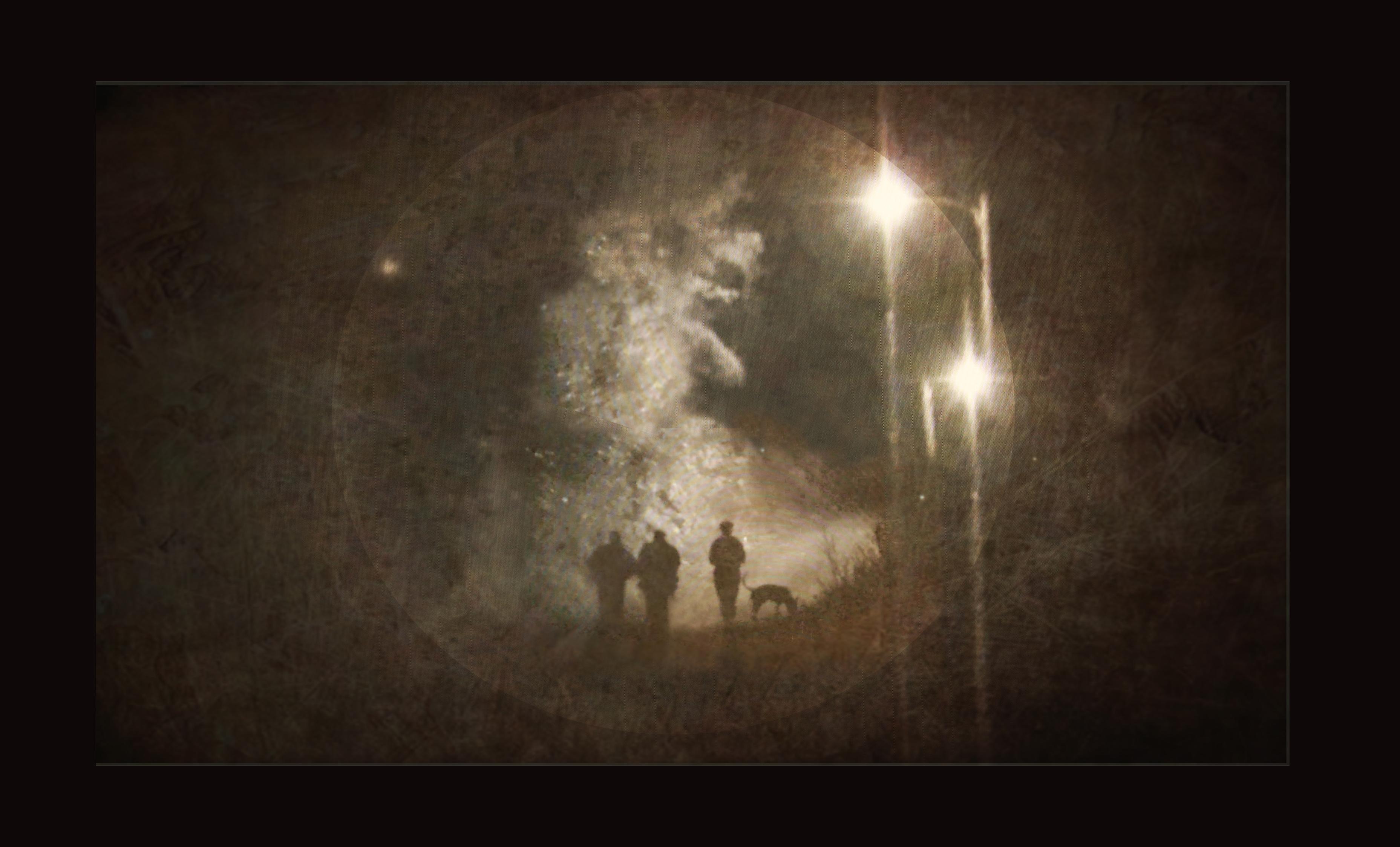 Night walk with Mavis + Winston