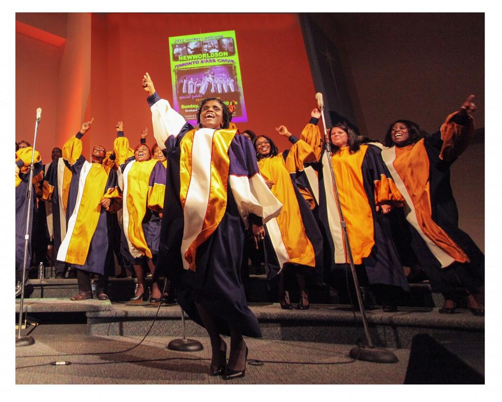 Toronto Mass Choir~ Blast off!