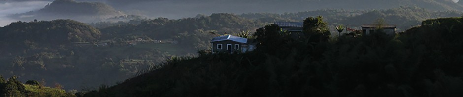 William Rules house perched on the top of Mount Diablo.